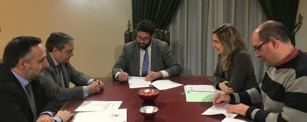 La Diputación de Ávila firma una operación de tesorería por 15 millones de euros para anticipar a los ayuntamientos la recaudación del IBI y el IAE