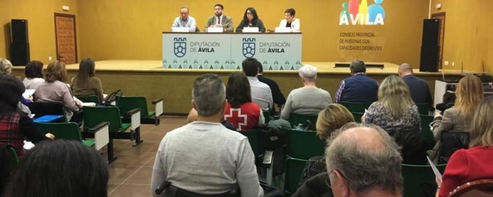 La Diputación de Ávila publica una guía de recursos de entidades del Consejo Provincial de Personas con Capacidades Diferentes
