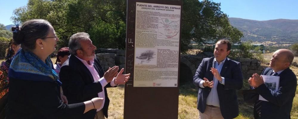 El III Día de los Puentes homenajea a Rodríguez Almeida en Piedrahíta