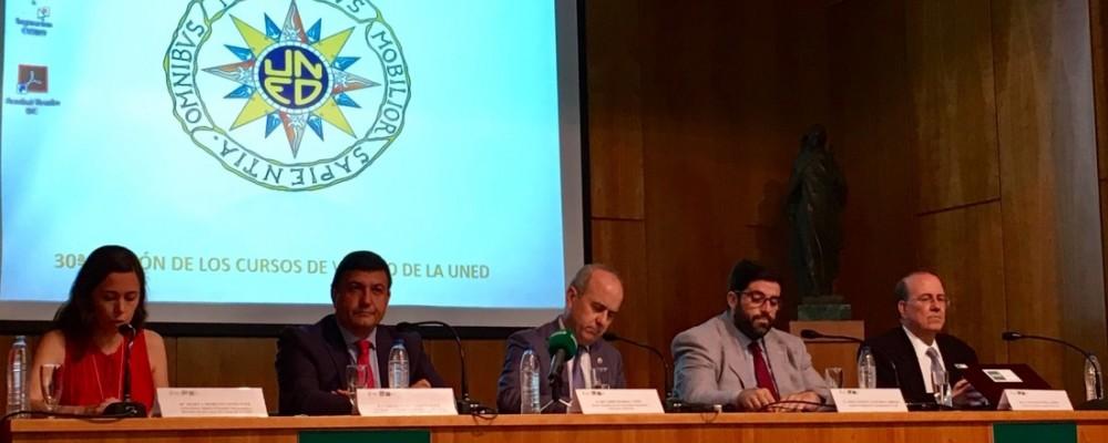 Treinta veranos de Cursos de la UNED con el respaldo de la Diputación