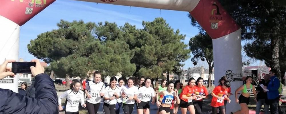 Arévalo y El Barco de Ávila se hacen con la competición de campo a través de los Juegos Escolares