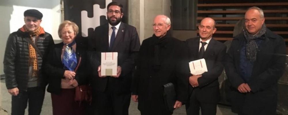 La Diputación de Ávila reconoce en un libro la labor humana y social de Vasco de Quiroga