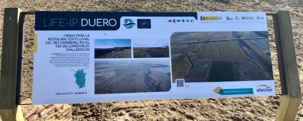 La Diputación, por la mejora de las cuencas del Zapardiel, Arevalillo y Trabancos