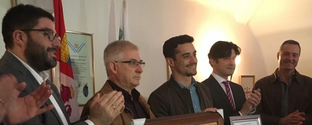 La Diputación de Ávila iniciará en breve el expediente administrativo para la concesión de la Medalla de Oro de la Provincia al patinador Javier Fernández