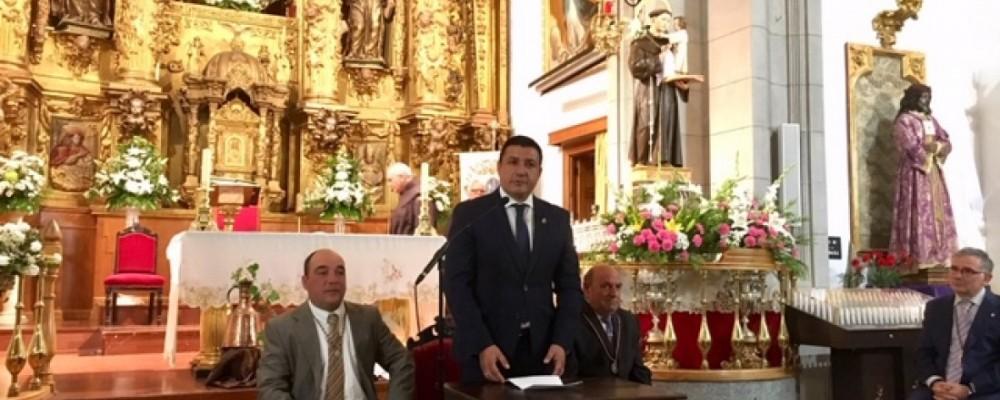 """Carlos García anima a los abulenses a disfrutar de las fiestas de San Antonio, """"el pórtico del verano"""" en Ávila"""