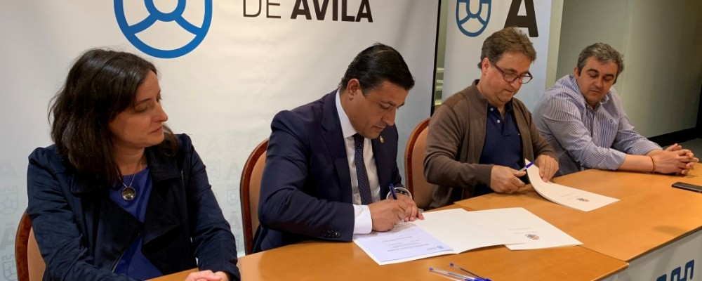 La Diputación Provincial de Ávila concede un préstamo de 100.000 euros a la Mancomunidad El Alberche