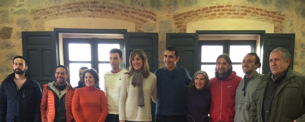 El I Ávila Running Camp reúne en Naturávila a una veintena de corredores de Castilla y León, Madrid y Cataluña