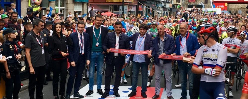 Arenas de San Pedro y la Plataforma de Gredos coronan a Roglic como ganador de La Vuelta 2019