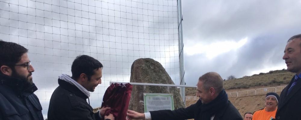 San Juan de la Nava rinde homenaje al árbitro internacional Juan Carlos Yuste poniendo su nombre al campo de fútbol municipal