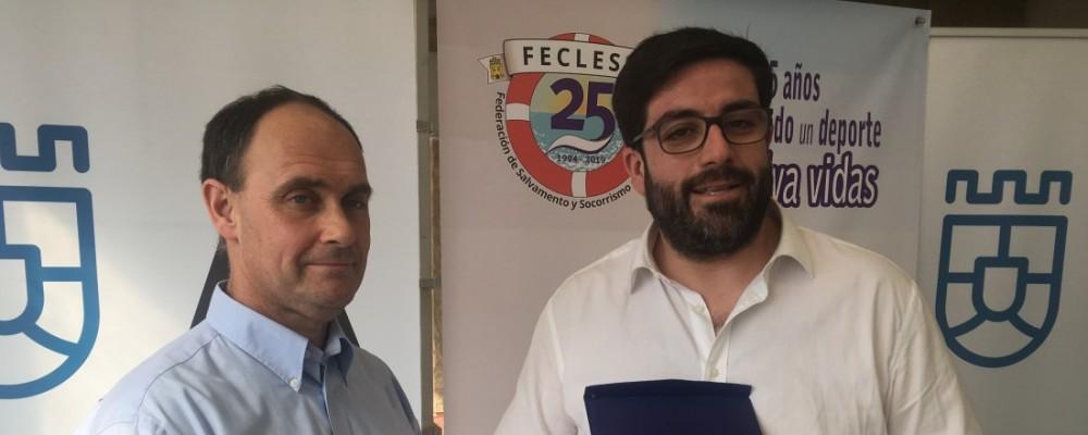 La Diputación de Ávila recibe la distinción de la Federación de Salvamento y Socorrismo de Castilla y León por la difusión de esta actividad entre escolares