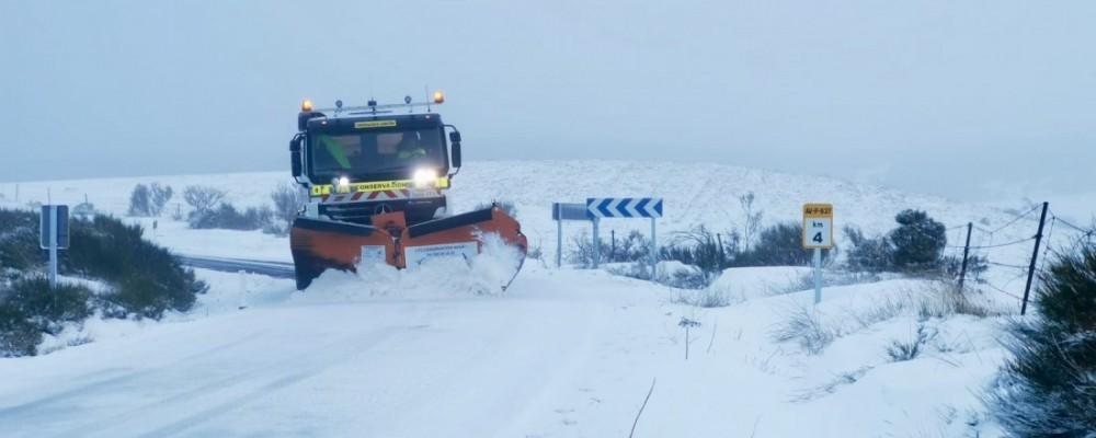 Comienza la campaña de vialidad invernal de la Diputación