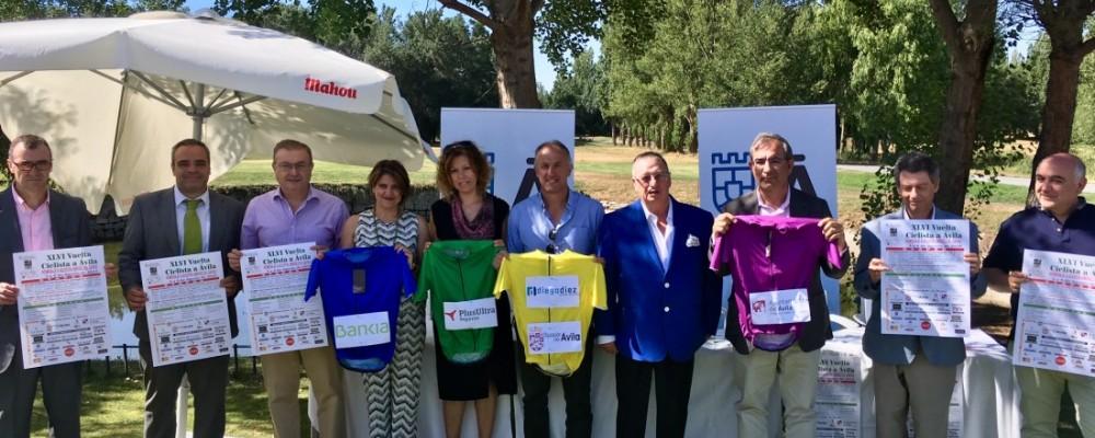 La Vuelta a Ávila se disputa este fin de semana con la Diputación como patrocinador principal