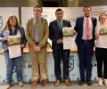 """Foto de La Diputación de Ávila y el Ayuntamiento de Martiherrero firman un convenio de colaboración para financiar el """"III Campus Casa Grande en Valores"""""""