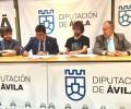 Foto de La Diputación de Ávila firma un convenio de colaboración con la Asociación Cultural Abulaga para la puesta en marcha del Museo Abierto de Ávila - Terra Levis
