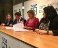 Foto de La Diputación firma un convenio de colaboración con la Asociación de Familiares de Enfermos de Alzheimer de Ávila