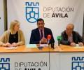 Foto de La Diputación de Ávila firma un convenio de colaboración con GEARA