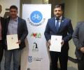 Foto de La Diputación de Ávila firma un convenio de colaboración con el club deportivo Soy Ciclismo