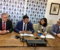 Foto de La Diputación, con la jornada 'Programa Export' de la asociación Avilagro