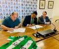 Foto de Ávila Auténtica seguirá en la camiseta de la CD Cebrereña durante la temporada 2019-2020