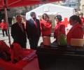 Foto de El presidente de la Diputación de Ávila subraya la pronta respuesta en emergencias que se alcanza en la provincia en colaboración con Cruz Roja