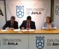 Foto de La Diputación de Ávila firma un convenio de colaboración con la Hermandad de Donantes de Sangre para la realización de charlas informativas