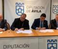 Foto de La Diputación firma un convenio con el Obispado de Ávila para la conservación de iglesias y ermitas de la provincia