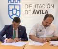 Foto de La Diputación firma un convenio de colaboración con Birding Ávila para la celebración de la II Feria Ornitológica de Castilla y León