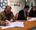 Foto de Convenio entre la Diputación y la Federación de Jubilados y Pensionistas de Ávila para talleres de gimnasia de mantenimiento en municipios de menos de 20.000 habitantes