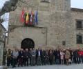 Foto de La Diputación de Ávila recuerda con un minuto de silencio a las víctimas del 11-M