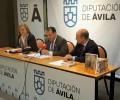 """Foto de La Diputación Provincial presenta el libro """"La arquitectura abulense del siglo XVI en Ávila: La casa de Bracamonte y el patrimonio abulense"""""""