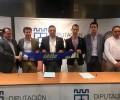 Foto de La Diputación y el Óbila CB renuevan el contrato de patrocinio