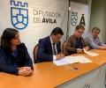 Foto de La Diputación Provincial de Ávila concede un préstamo de 100.000 euros a la Mancomunidad El Alberche