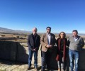 Foto de El presidente de la Diputación pone como ejemplo de desarrollo sostenible la ganadería ecológica De la Serna y su inclusión en Ávila Auténtica