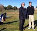 Naturávila acoge los entrenamientos navideños del joven golfista Álvaro Morales