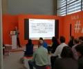 El Área de Energía de la Diputación presenta el proyecto europeo GEFRECON en la feria Expobiomasa de Valladolid