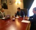 El presidente ratifica ante el rector de la USAL la vinculación de la Diputación con la Escuela de Enfermería y su traslado al edificio de la Politécnica