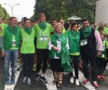Cerca de 2.500 abulenses participan en la III Marcha de la AECC, con la Diputación como patrocinador principal