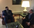 El presidente de la Diputación de Ávila recibe al Procurador del Común en Castilla y León