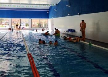 Casi 200 niños compiten entre Naturávila y Navaluenga en la Jornada de Juegos Escolares (2º Fotografía)
