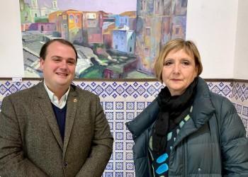 Calles de Marruecos, Zanzíbar o Grecia se exponen en el Torreón de los Guzmanes (2º Fotografía)