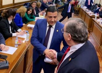 """García: """"Con la aprobación unánime de los Presupuestos mandamos un mensaje de fortaleza institucional en un momento crucial"""" (4º Fotografía)"""