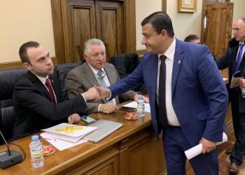 """García: """"Con la aprobación unánime de los Presupuestos mandamos un mensaje de fortaleza institucional en un momento crucial"""" (3º Fotografía)"""