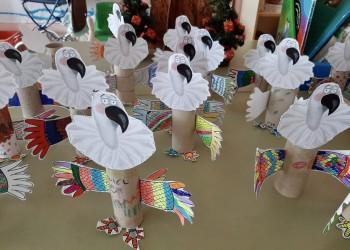 Alumnos de Primaria de la provincia aprenden a reciclar con el ejemplo de las aves carroñeras (3º Fotografía)