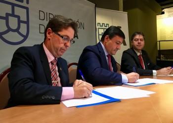 La Diputación asesorará a los municipios sobre alumbrado público junto al Colegio de Ingenieros Técnicos