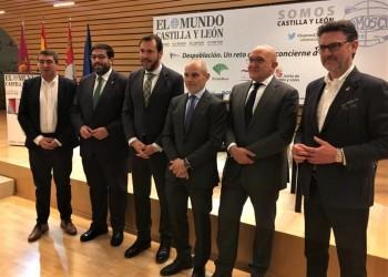 El presidente de la Diputación de Ávila reclama al Gobierno de España una inversión decidida para el tren como medida para frenar la despoblación (2º Fotografía)