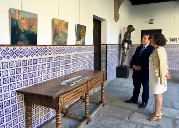 'Modulación del paisaje': los óleos de Sánchez Dato, en el Torreón de los Guzmanes durante el mes de octubre