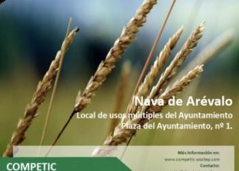 Tecnología, eficiencia y ahorro, en la jornada de Agricultura Inteligente que se celebra el jueves en Nava de Arévalo