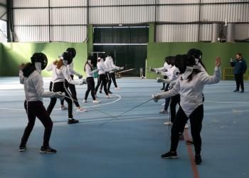 Los Juegos Escolares estrenan jornadas multideporte con la participación de medio centenar de alumnos de la provincia (2º Fotografía)