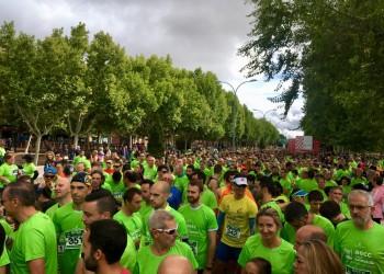 Cerca de 2.500 abulenses participan en la III Marcha de la AECC, con la Diputación como patrocinador principal (2º Fotografía)
