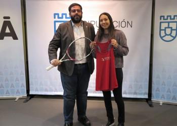 La Diputación de Ávila renueva el patrocinio deportivo con la tenista Paula Arias a través de la marca Ávila Auténtica